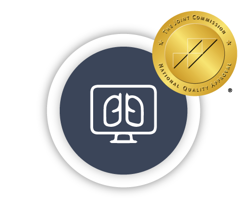 Teleradiology Solutions Icon-With National Quality Badge